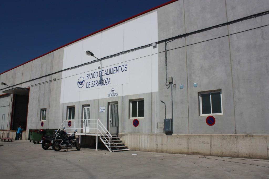 Nueva sede Banco de Alimentos de Zaragoza
